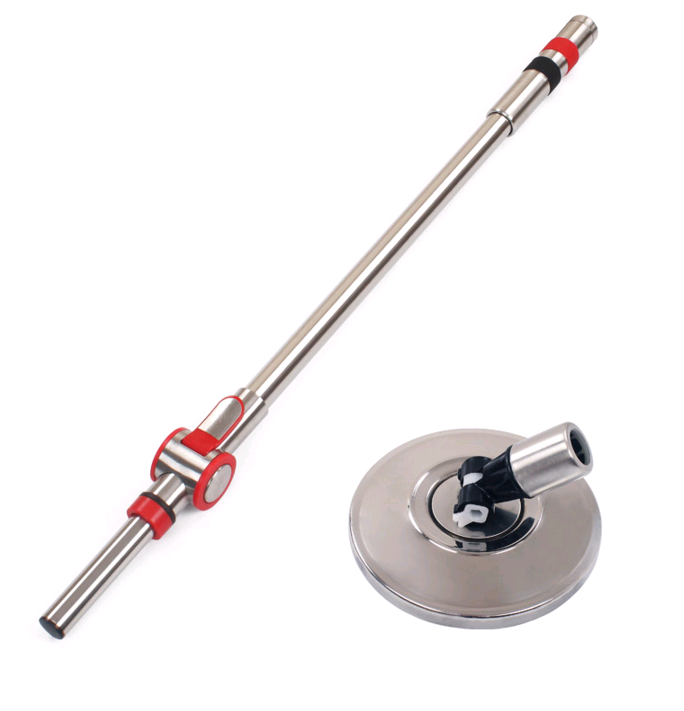 Magic Foldable Metal Spin Telescopic Easy stainless Steel 360 magic Mop replacement parts in mop