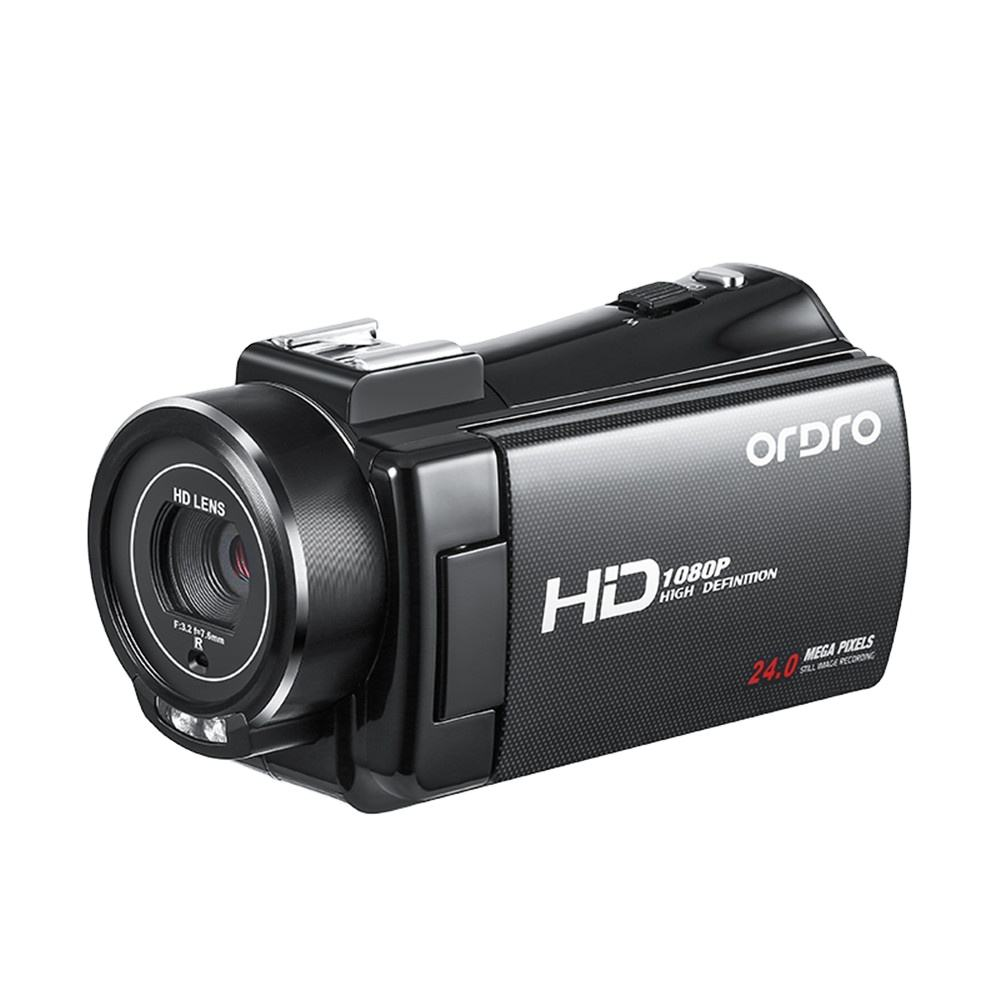 ORDRO V7 PLUS FHD Cheap Camcordrers with Night Vision Digital HD Camcorder Camera