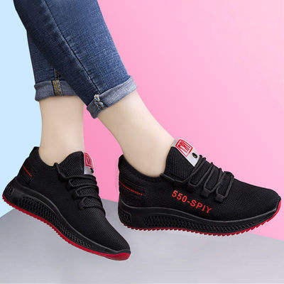 Spring Women's Shoes Mesh Casual Sports Shoes