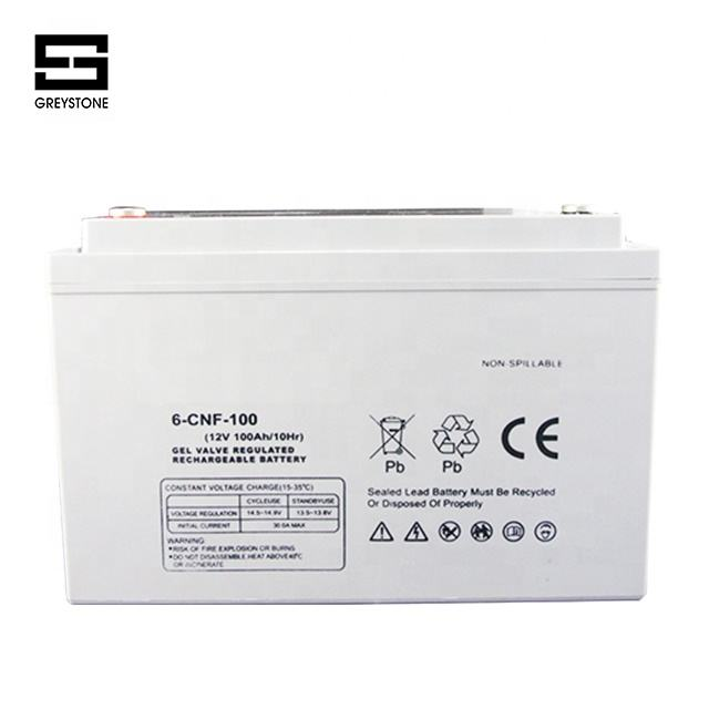 sealed maintenance free small 10ah to 55ah rechargeable 12v vrla gel battery