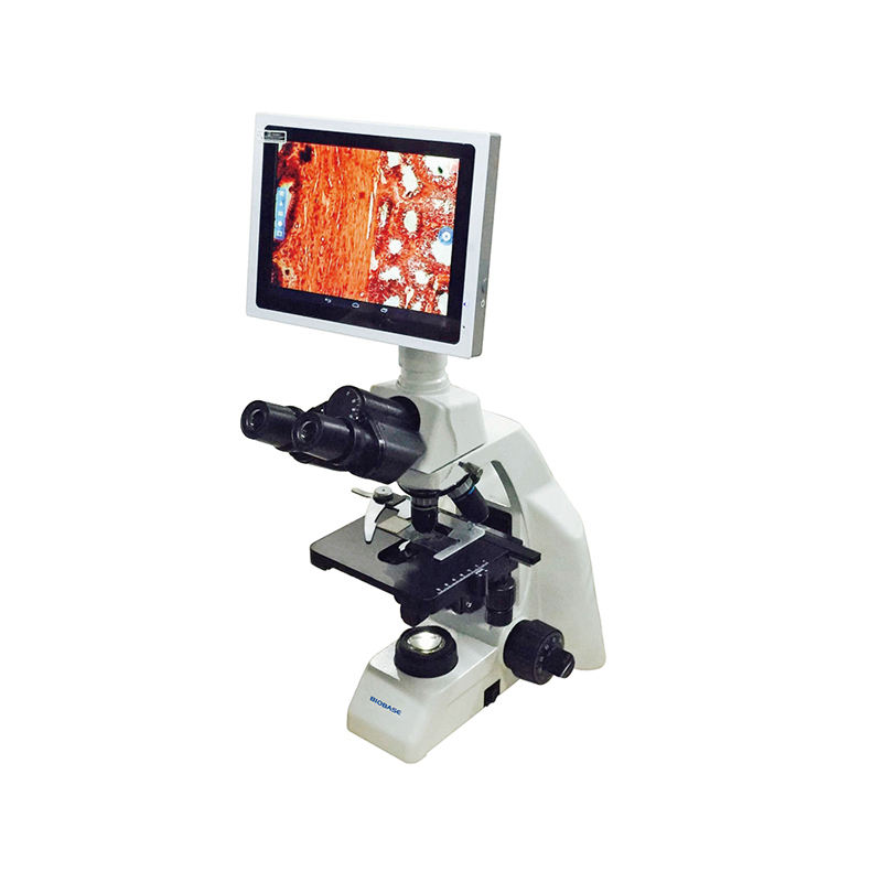 2020 BIOBASE Digital Biological Microscope with Backward Quadruple Nosepiece