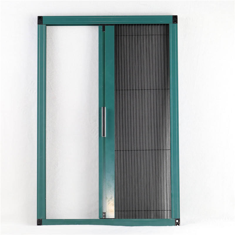 Top quality polyester window protect mesh pleated insect screen