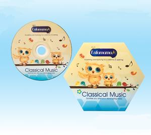 music CD making with cardboard sleeve