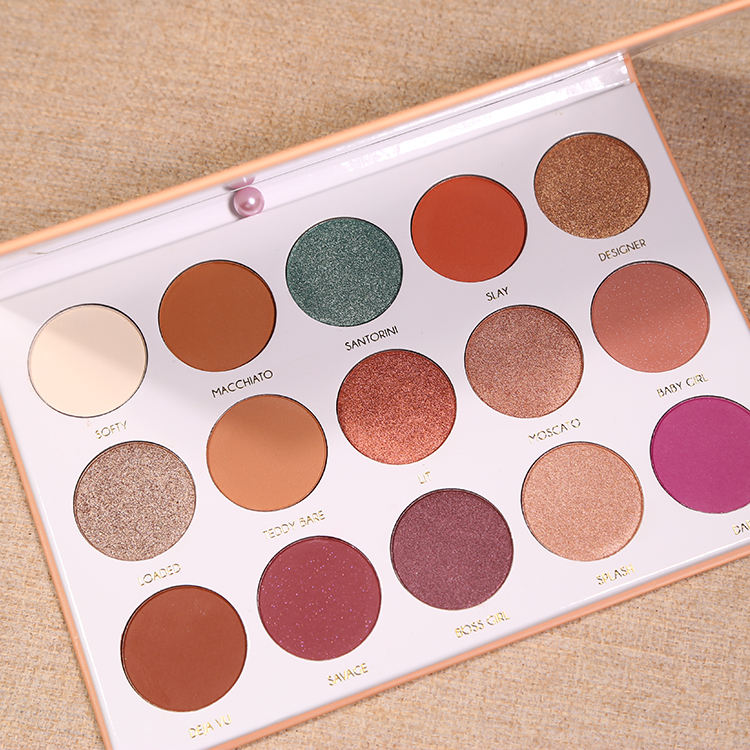 S32 Newest eye shadow palette 35 color custom private label eyeshadow palette