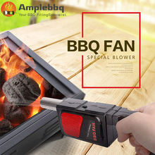 Brand New Electric Bentilator Bellows Handheld BBQ Fan Air Blowers for Outdoor Camping Barbecue