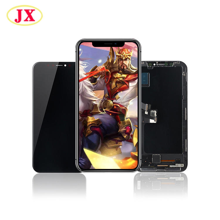 OLED harte Flexible LCD Für Apple iPhone X OLED LCD Screen Touch Display Ersatz GX