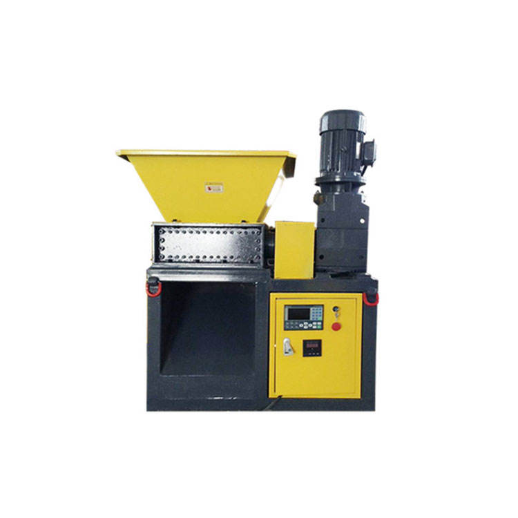 Factory direct supply small two shaft plastic shredder machine