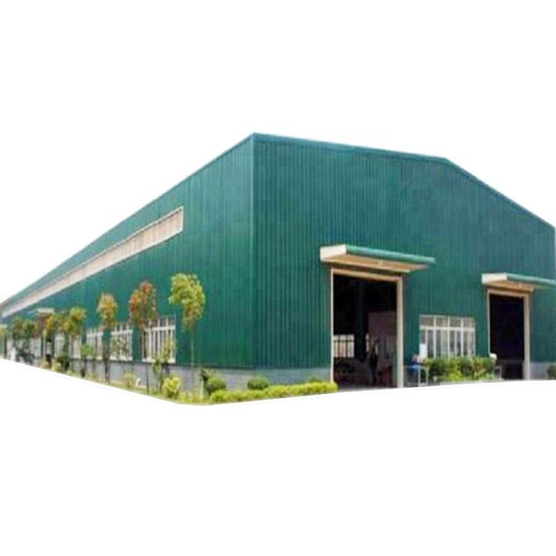 Cheap Price Ghana Steel Prefabricated Warehouse/ Factory/ Carport