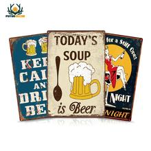 Beer Tin Sign Metal Sign Wall Decor for Bar Pub Club Man Cave