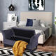 Metal Storage Ottoman Laynsino Bedroom Upholstered Bench Metal Base Storage Ottoman Bench