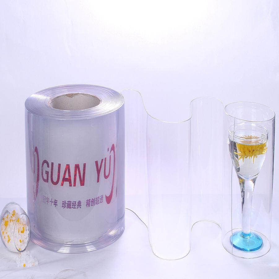 Alcanzar la certificación almacén Industrial a prueba de polvo estándar plana de Pvc transparente claro cortina de