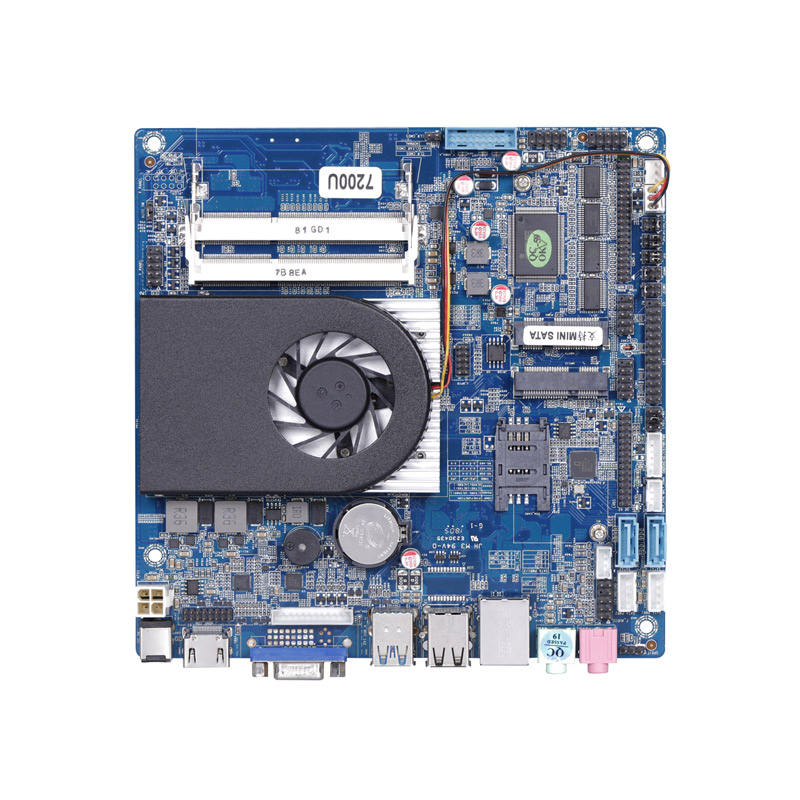 170*170 millimetri mainboard Soc <span class=keywords><strong>chipset</strong></span> 7th gen <span class=keywords><strong>core</strong></span> I3 scheda madre con 2 SO-DDR3L di memoria a bordo