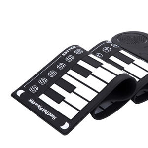 High Quality 49 Key Electronic Roll Up Silicone Piano Keyboard for Kids