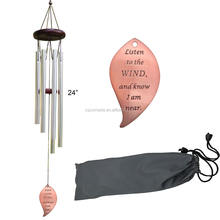 2020 NEW Hot sale metal wind chime for memorial with metal drop windchime for loved ones