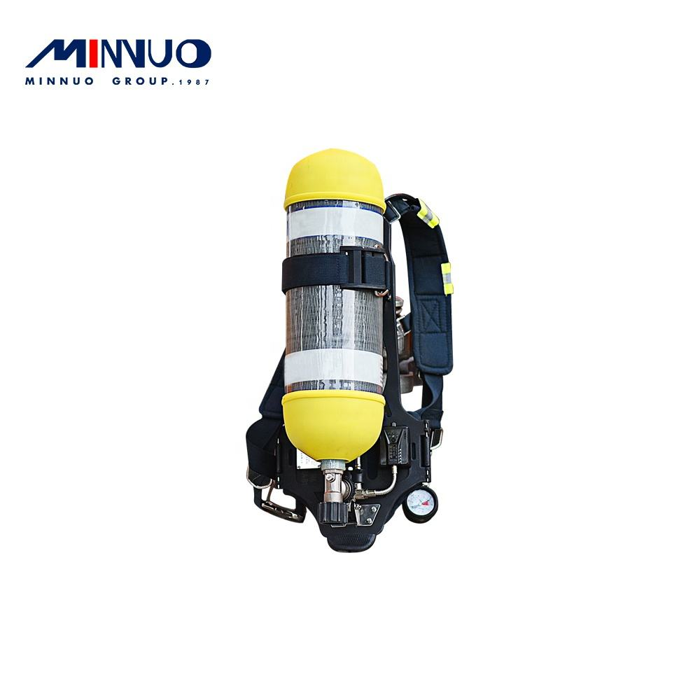 High accuracy easy to use high pressure carbon fiber composite gas cylinder prevent firefighters from hypoxia