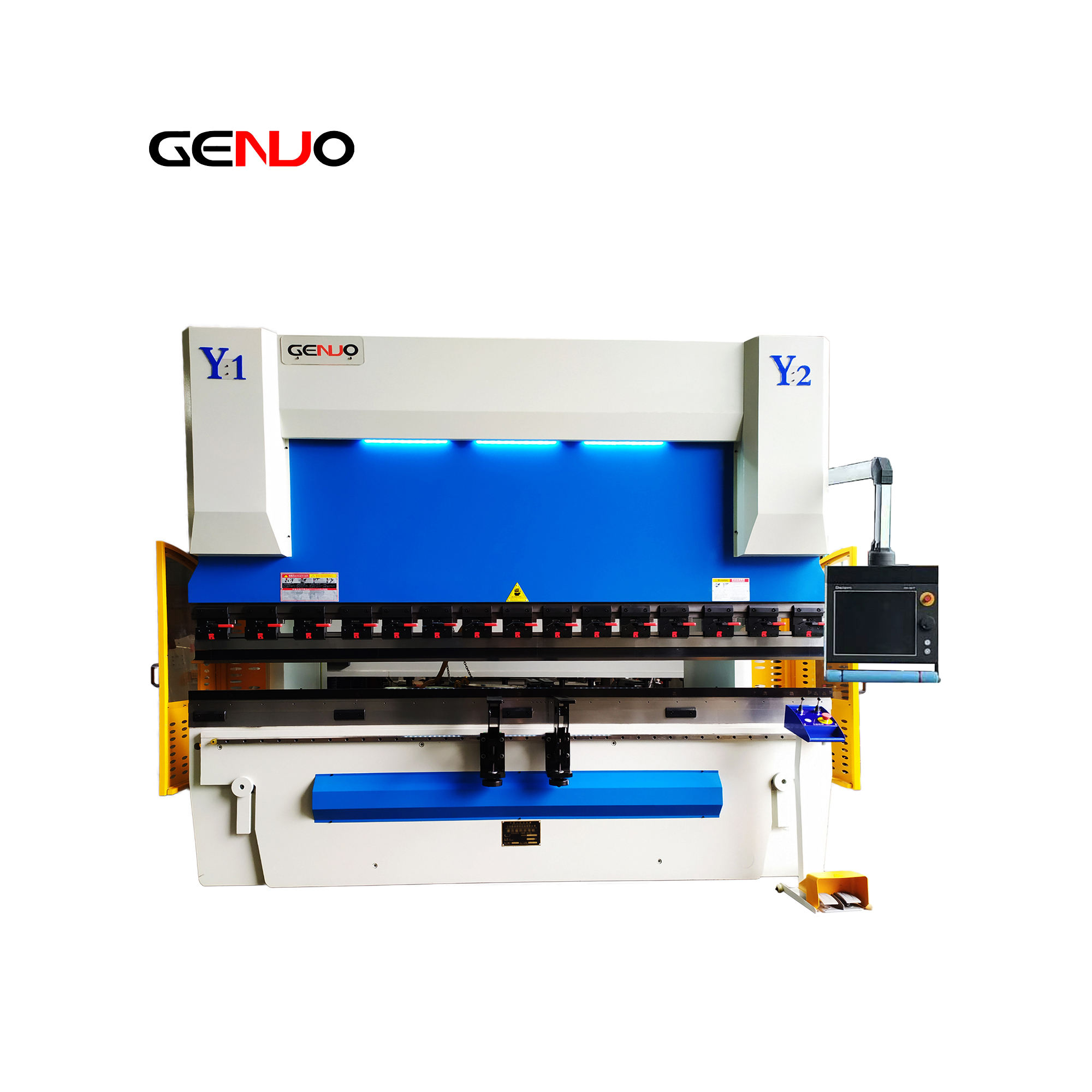 WC67K 5 meter /200t Hydraulic Stainless Plate Bending Machine