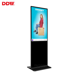 49 Inch Capacitive Lcd Touch Screen Reclame Machine Wifi Volledige Wortel Android Systeem Lcd Reclame 3d Digital Signage Display