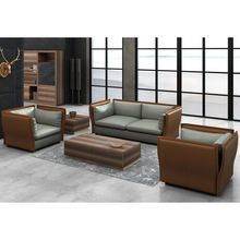 High Quality Leather Office Sofa For Reception