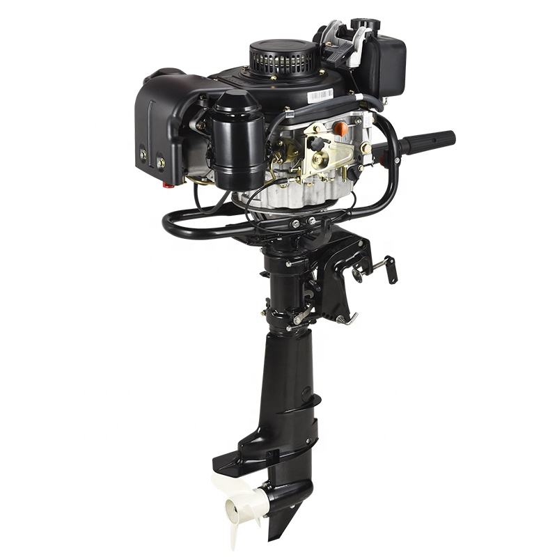 Diesel Fuel Type 4 Stroke 6HP Outboard Motor with Reverse Gear and Electric Start