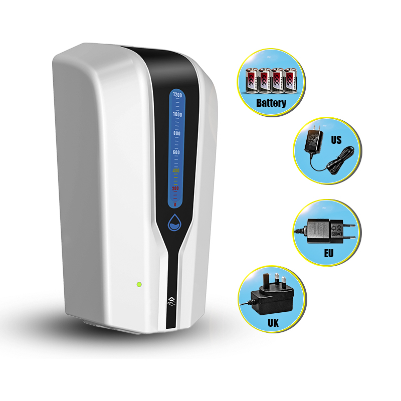 Automatic Touchless Soap Dispenser Wall-mounted Hand Sanitizer Disinfection Liquid Dispenser