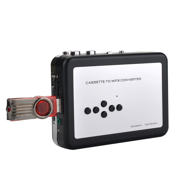 ezcap231 Standalone Cassette Tape To MP3 Converter Convert Tapes to USB Flash Drive directly No Need Computer Cassette Converter