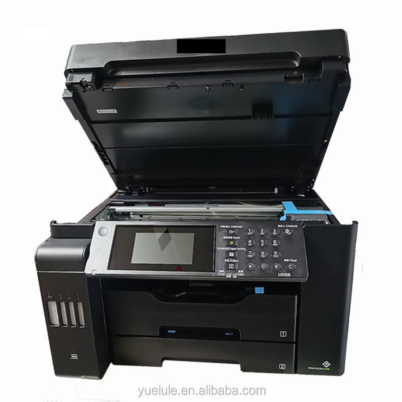 A3 all copier wholesale L15158 digital printers 3 in one inkjet colour printer for computer Ink bin integrated machine