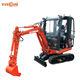 Small Digger Machine Mini Crawler Excavator for Sale