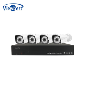 4 Channel 5mp IP Camera Security Camera System waterproof POE NVR Kit
