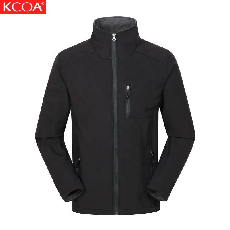 KCOA Latest Design Slim Cool Windbreaker Sports Softshell Jackets Men's Autumn Jacket