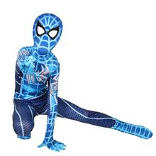 Boys Halloween Spider-Man Cosplay suits Spiderman costume cosplay clothes for kids