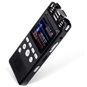 4GB 8GB 16GB professional dictaphone 1536Kbps monitor hearing aid WAV MP3 digital voice recorder