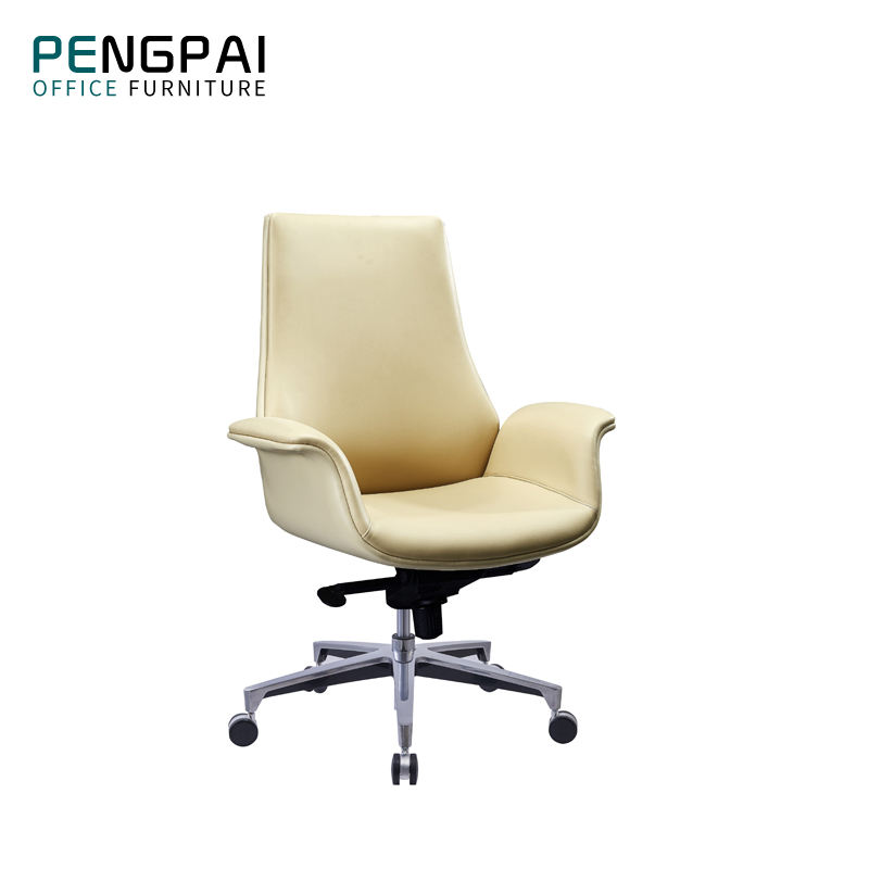 Chinese 180Kg Heavy Duty Luxury Tilting And Lock Confortable Office Chair Pu Manager Chairs