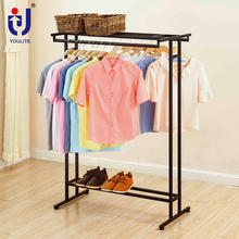Gondola Metal Garment Shops Stands Stand Shelves Rolling Rack Display Clothing Store Racks For Clothing Store
