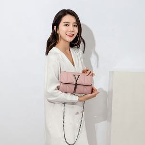 2020 New Fashion Sac En Cuir Femme Clutch Quilted Trendy Channel Branded Sling One Shoulder Jelly Bags Women Handbag