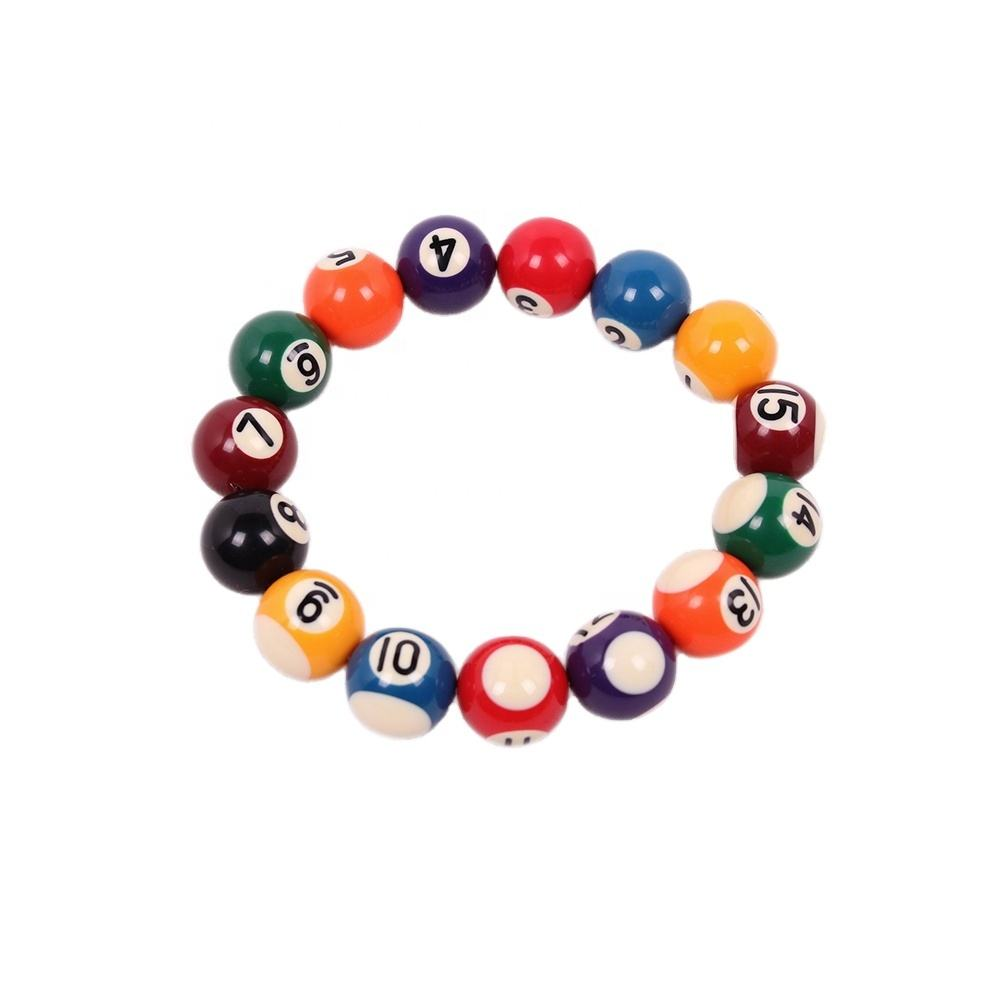 Billiard Pool Ball Bracelets