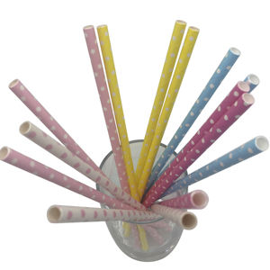 Hot Sale Eco-Friendly paper straw for party