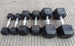 Twin Full Hex Rubber Dumbbell Per Pound Hex Dumbbell Set Rubber Hex Rubber Dumbbell