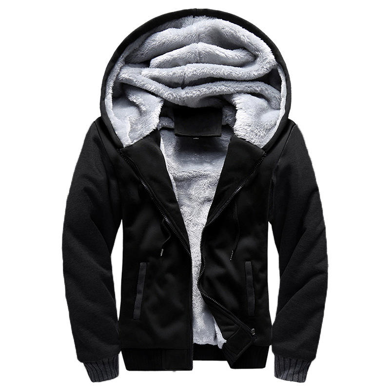 Plus Size Chaquetas Black Slim Fit For Zip Up Jackets Men's Jacket Coats Brand Fashion Man Long Winter Coat For Men