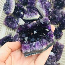 Wholesale Natural Bulk Reiki Healing Brazil Purple Amethyst Cluster
