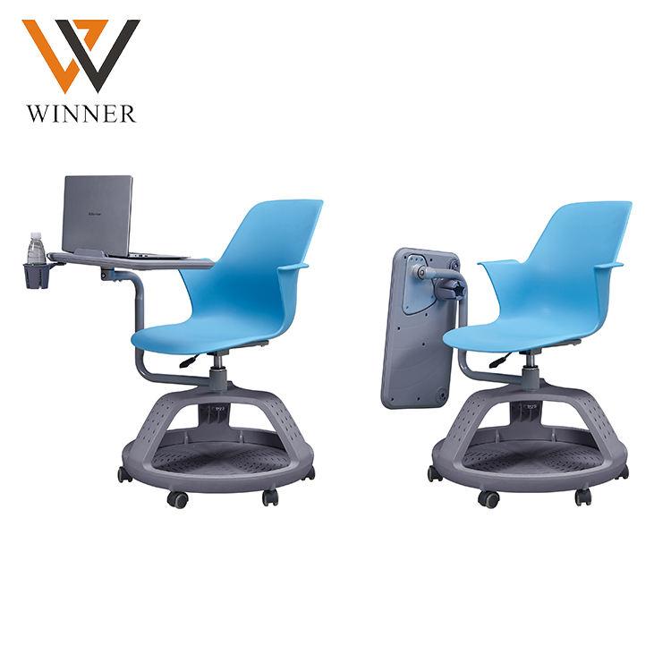 Disque trépied mobile table fauteuil <span class=keywords><strong>polyvalent</strong></span> sièges classe formation tablette PC <span class=keywords><strong>chaises</strong></span> avec table