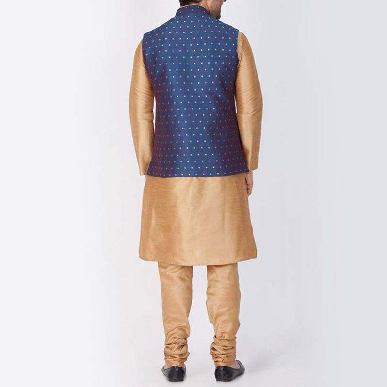 New Design Fashionable Party Wear Gown For Kurta Men Islamic Clothing With Men's Suits