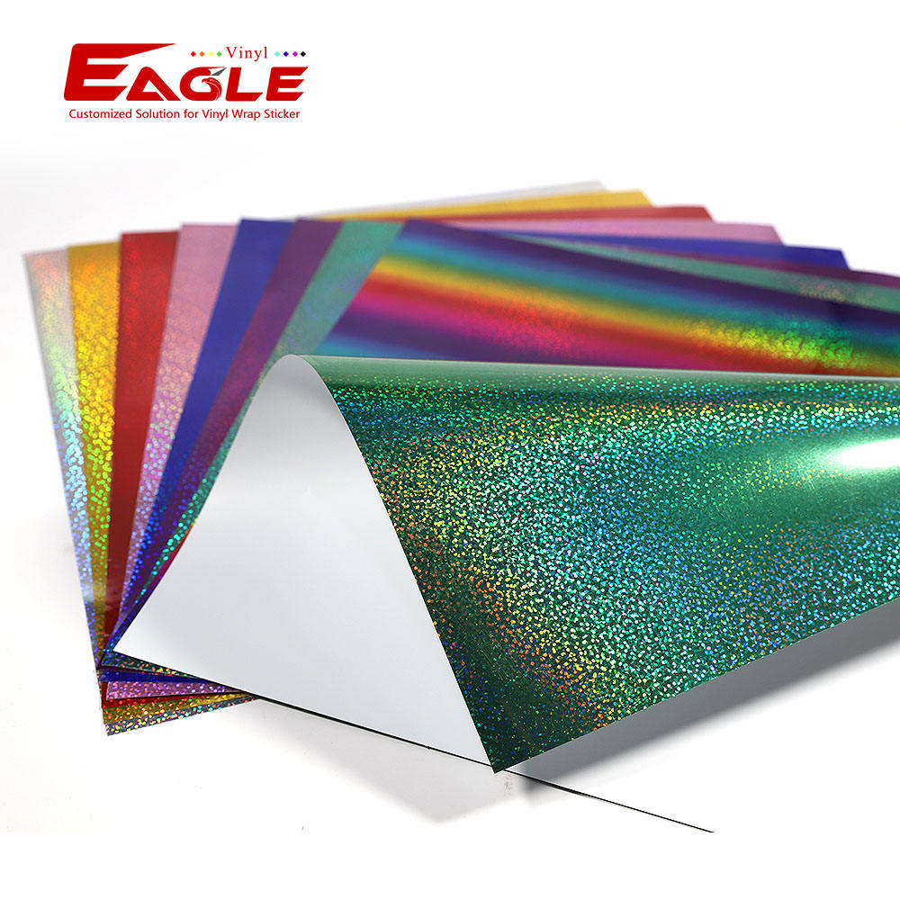 Eagle New PVC Sticker Sample Book Self Adhesive Craft Vinyl Roll For Cutting Plotter