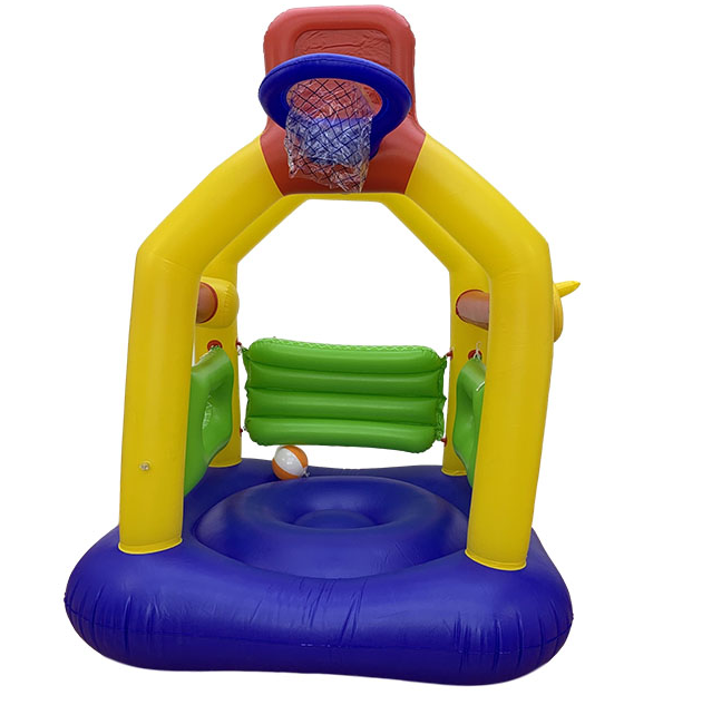 hot selling pvc inflatable castle toy for kids to playing in the garden or indoor