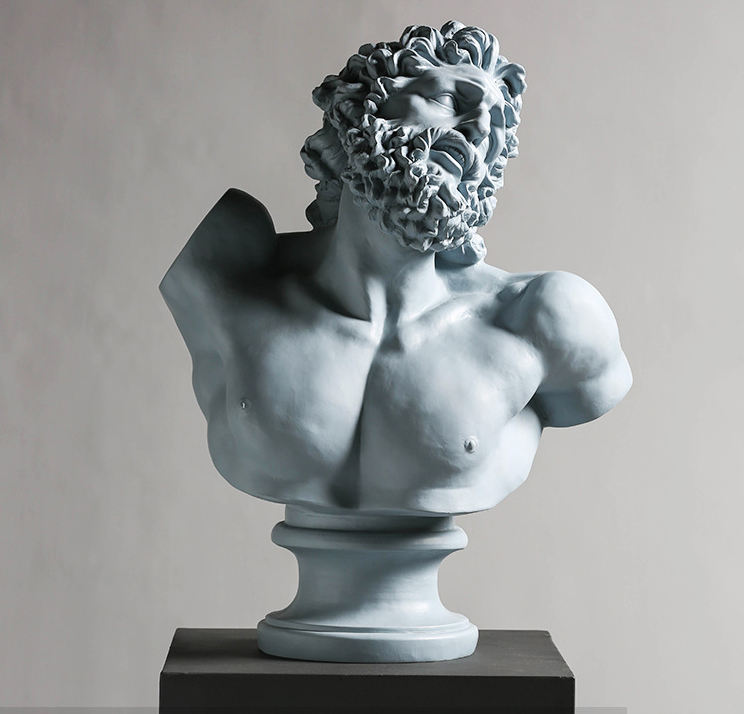 Creativiteit Art Ornament Laocoon <span class=keywords><strong>Buste</strong></span> Hars Decoratie Hars Figuur Standbeeld