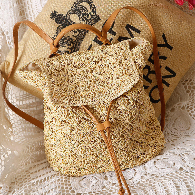 large designer summer tote mesh straw beach bag