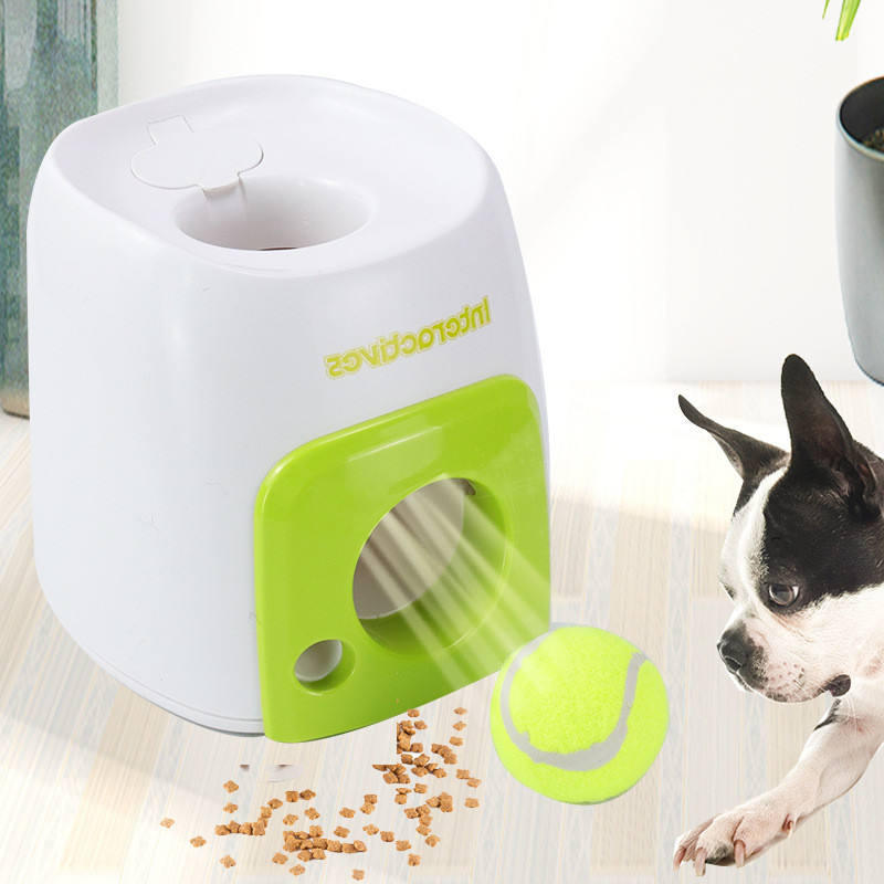 Interactive Exercise Tennis Game Dog Serving Machine Snack Reward Machine Pet Toy Pet IQ Training Game