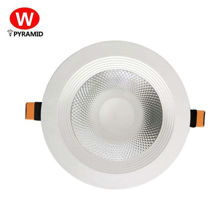 סופרמרקט תאורת COB עגול Dimmable צמודי שקוע 7W 10W 15W 20W 30W LED <span class=keywords><strong>Downlight</strong></span>