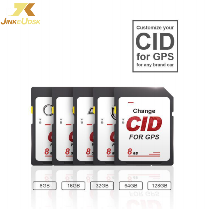 Cambio <span class=keywords><strong>de</strong></span> OEM CID Negro CID personalizado Tarjeta SD Escribir / Clonar CID 32 gb 64 gb 128 gb 256 gb Tarjeta <span class=keywords><strong>de</strong></span> memoria para GPS