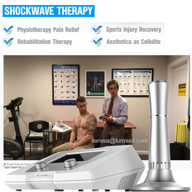 Shockwave therapy machine Joint/Muscle problems ankle rehabilitation BS-SWT2X shock wave therapy machine equipment
