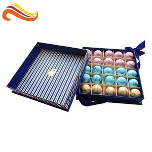 Elegant Paper Box High Quality Top and Base Gift Box For Chocolate Packing